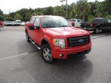 2010 Vermillion Red Ford F150 FX4 SuperCrew 4x4 #83017427