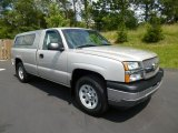 2005 Silver Birch Metallic Chevrolet Silverado 1500 Regular Cab 4x4 #83071057