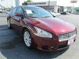 2010 Crimson Black Nissan Maxima 3.5 SV Premium #83070732