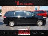2011 Black Toyota Sienna XLE #83070660