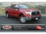 2013 Barcelona Red Metallic Toyota Tundra CrewMax 4x4 #83070598