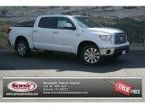 2013 Super White Toyota Tundra Platinum CrewMax 4x4 #83070594