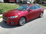 2013 Ruby Red Metallic Ford Fusion Titanium #83070723