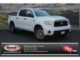 2013 Super White Toyota Tundra TRD Rock Warrior CrewMax 4x4 #83070590