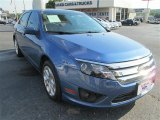 2010 Sport Blue Metallic Ford Fusion SE V6 #83070709