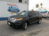 2013 Tuxedo Black Metallic Ford Explorer XLT #83070693