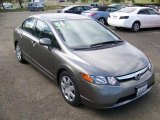 2006 Galaxy Gray Metallic Honda Civic LX Sedan #8304366