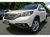 2012 White Diamond Pearl Honda CR-V EX-L #83102853