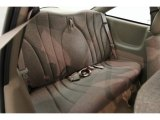 1999 Chevrolet Cavalier Coupe Rear Seat