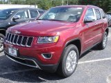 2014 Deep Cherry Red Crystal Pearl Jeep Grand Cherokee Limited 4x4 #83102538