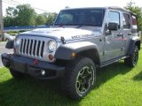 2013 Billet Silver Metallic Jeep Wrangler Unlimited Rubicon 10th Anniversary Edition 4x4 #83102524