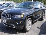 2014 Brilliant Black Crystal Pearl Jeep Grand Cherokee Limited 4x4 #83102512