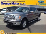 2011 Sterling Grey Metallic Ford F150 Lariat SuperCrew 4x4 #83102693