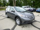 2013 Polished Metal Metallic Honda CR-V LX AWD #83102898