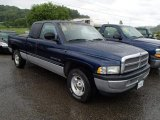 2001 Patriot Blue Pearl Dodge Ram 1500 SLT Club Cab #83102680