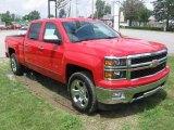 2014 Victory Red Chevrolet Silverado 1500 LTZ Crew Cab 4x4 #83141208