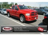 2004 Flame Red Dodge Ram 1500 SLT Quad Cab 4x4 #83140875