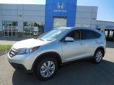 2013 Alabaster Silver Metallic Honda CR-V EX-L AWD #83141159