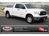 2011 Super White Toyota Tundra Double Cab 4x4 #83140868