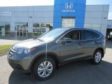 2013 Polished Metal Metallic Honda CR-V EX AWD #83141158