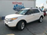 2014 White Platinum Ford Explorer XLT #83140955
