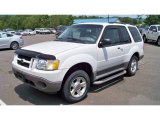 Oxford White Ford Explorer in 2003