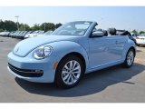 2013 Denim Blue Volkswagen Beetle TDI Convertible #83141076