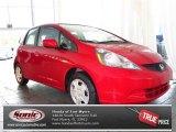 2013 Milano Red Honda Fit  #83140901