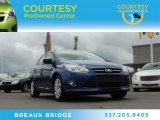 2012 Sonic Blue Metallic Ford Focus SE Sedan #83141183