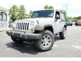 2011 Bright Silver Metallic Jeep Wrangler Sport 4x4 #83162193