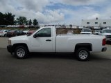 2013 Summit White Chevrolet Silverado 1500 Work Truck Regular Cab #83162228