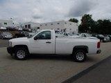 2013 Summit White Chevrolet Silverado 1500 Work Truck Regular Cab #83162227