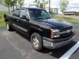 2003 Black Chevrolet Silverado 1500 LS Extended Cab 4x4 #83162222