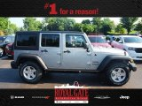 2013 Billet Silver Metallic Jeep Wrangler Unlimited Sport 4x4 #83162134
