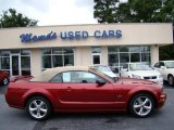 2006 Redfire Metallic Ford Mustang GT Premium Convertible #83169932