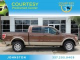 2012 Golden Bronze Metallic Ford F150 Lariat SuperCrew 4x4 #83169768