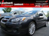 2012 Dark Gray Metallic Subaru Impreza 2.0i Premium 4 Door #83169836