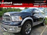 2012 Black Dodge Ram 1500 Laramie Crew Cab #83169832