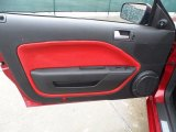 2006 Ford Mustang GT Premium Convertible Door Panel