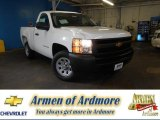 2013 Summit White Chevrolet Silverado 1500 Work Truck Regular Cab #83169898