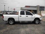 2008 Bright White Dodge Ram 1500 ST Quad Cab 4x4 #83170148