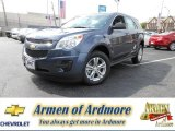 2013 Atlantis Blue Metallic Chevrolet Equinox LS #83169887
