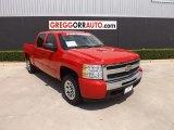2011 Victory Red Chevrolet Silverado 1500 LS Crew Cab #83170009