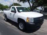 2013 Summit White Chevrolet Silverado 1500 Work Truck Regular Cab 4x4 #83206561