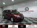 2012 Salsa Red Pearl Toyota Sienna XLE #83205905