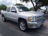 2013 Silver Ice Metallic Chevrolet Silverado 1500 LT Crew Cab #83206560