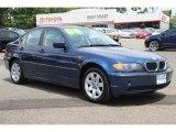 2004 Mystic Blue Metallic BMW 3 Series 325xi Sedan #83206008