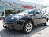 2013 Super Black Nissan LEAF SV #83206215