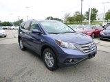 2013 Twilight Blue Metallic Honda CR-V EX-L AWD #83206436