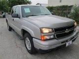 2006 Silver Birch Metallic Chevrolet Silverado 1500 Z71 Extended Cab 4x4 #83205888